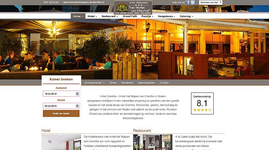 Websitefoto Wapen van Drenthe